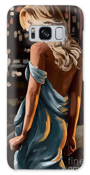 City Girl Galaxy Case by Tim Gilliland