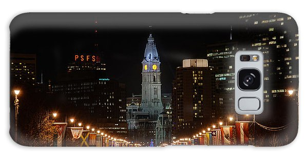 City Hall At Night Galaxy Case