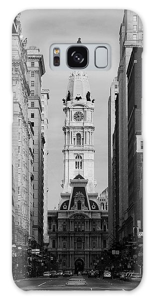 City Hall B/w Galaxy Case