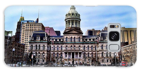 City Hall In Baltimore Galaxy Case