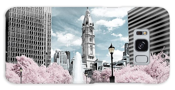 City Hall In Spring Galaxy Case