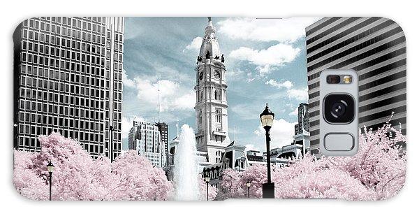 City Hall In Spring Galaxy Case
