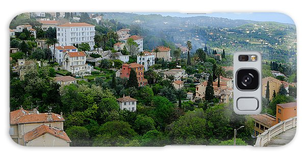 City Hills Of Grasse France Galaxy Case
