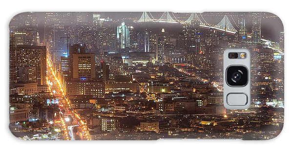 City Lava Galaxy Case by Peter Thoeny