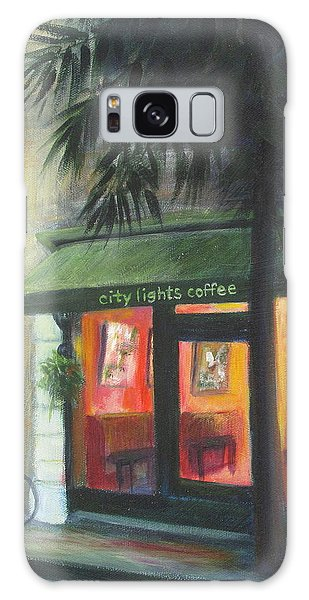 City Lights On Market St. Galaxy Case
