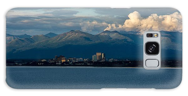 City Of Anchorage  Galaxy Case by Andrew Matwijec