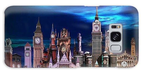 City Of Clocks Galaxy Case