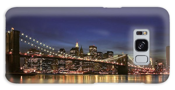 City Of Lights Galaxy Case