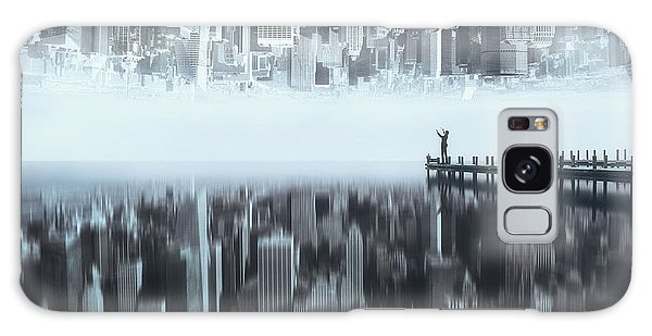Dock Galaxy S8 Case - City Of Mirror by Terry F