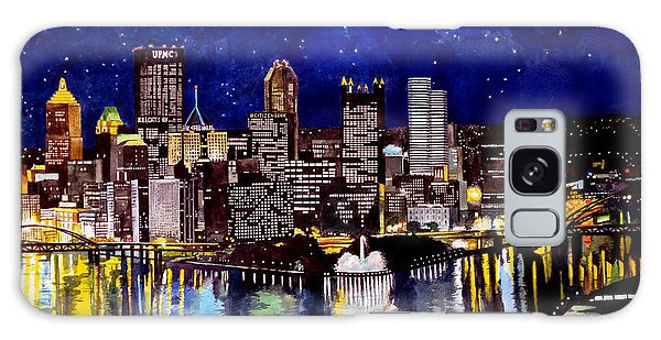 City Of Pittsburgh At The Point Galaxy Case