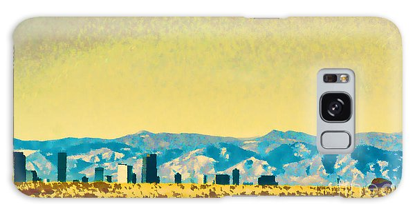 City On The Plains Galaxy Case