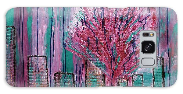 City Pear Tree Galaxy Case