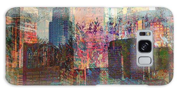 City Skyline Abstract Scene Galaxy Case