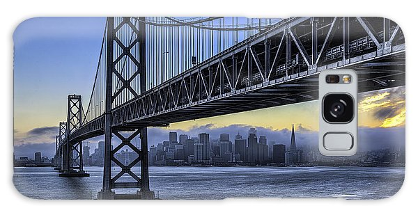 City Skyline Under The Bay Bridge Galaxy Case
