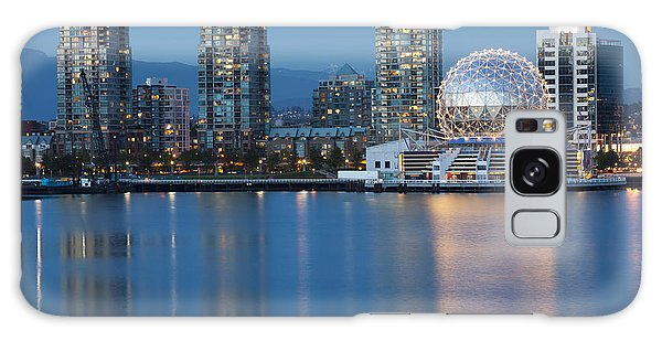 City Skyline -vancouver B.c. Galaxy Case