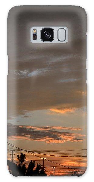 City Sunset 2  Galaxy Case by Lyle Crump