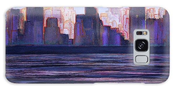 City Sunset Galaxy Case