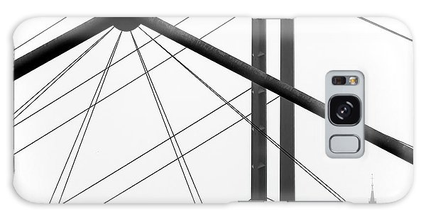 River Galaxy Case - City View by Klaus Lenzen