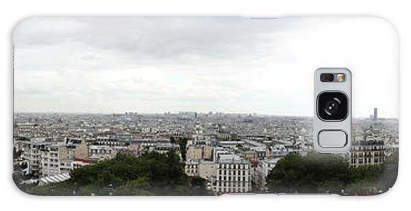 Sacred Heart Galaxy Case - City Viewed From Sacre-coeur Basilica by Panoramic Images