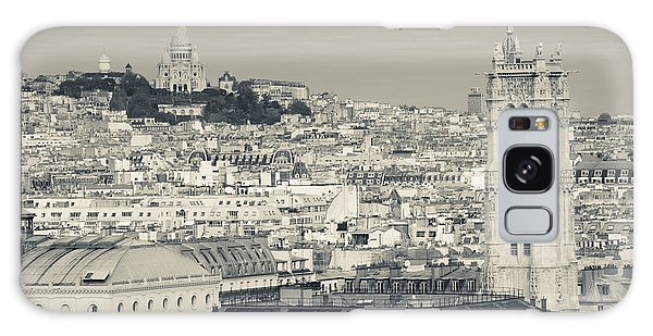 Sacred Heart Galaxy Case - City With St. Jacques Tower by Panoramic Images