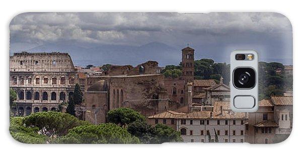 Rome Italy Cityscape Galaxy Case
