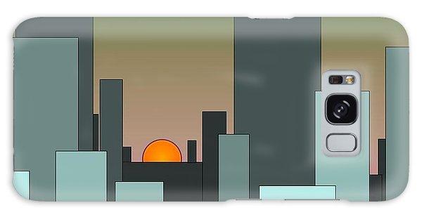 Cityscape Galaxy Case