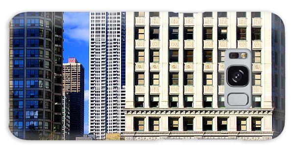 Cityscape Windows Galaxy Case