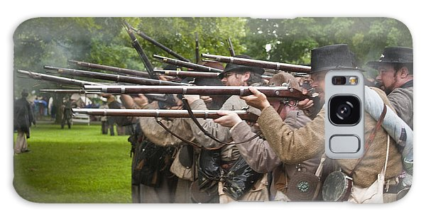 Civil War Reenactment 1 Galaxy Case
