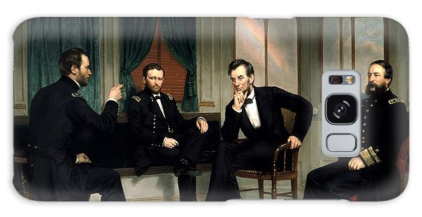 Abraham Lincoln Galaxy S8 Case - Civil War Union Leaders -- The Peacemakers by War Is Hell Store