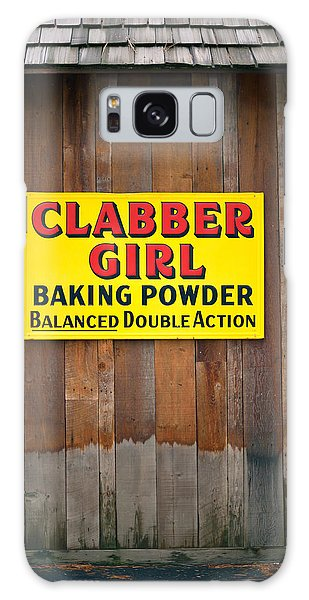 Clabber Girl Galaxy Case