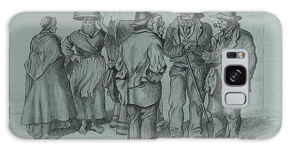 Claddagh People 1873 Galaxy Case