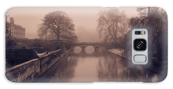 Claire College Bridge Cambridge Galaxy Case by David Warrington