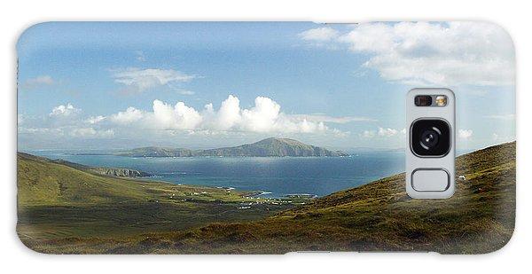 Clare Island Connemara Ireland Galaxy Case by Butch Lombardi