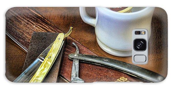 Classic Barber Shop Shave - Barber Shop Galaxy Case by Lee Dos Santos