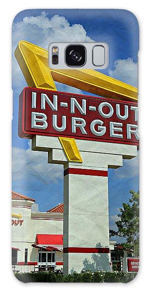 Potato Galaxy Case - Classic Cali Burger 1.1 by Stephen Stookey