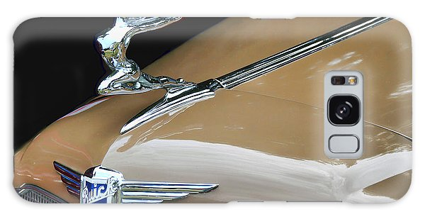 Classic Car - Buick Victoria Hood Ornament Galaxy Case by Peggy Collins