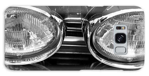 Classic Car Grill And Lights Galaxy Case by Mick Flynn