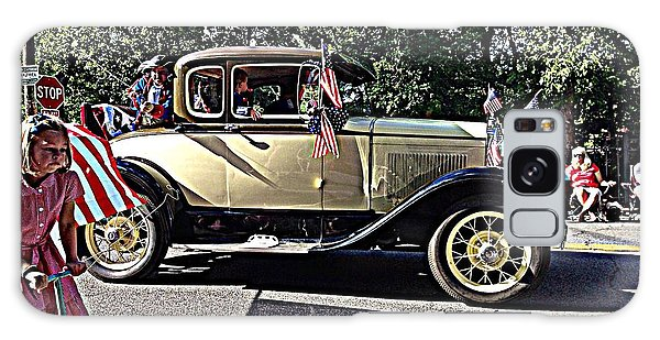 Classic Children's Parade Classic Car East Millcreek Utah 1 Galaxy Case by Richard W Linford