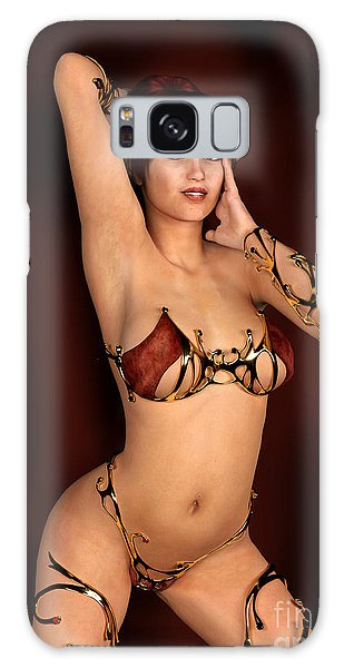 Classic Elf Pin Up Galaxy Case