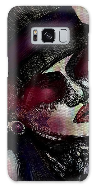 Classic Lady Galaxy Case by Akiko Okabe