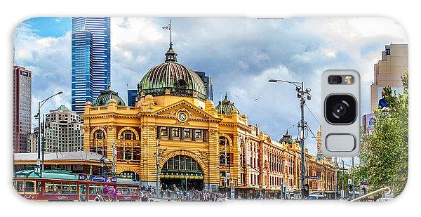 Cart Galaxy Case - Classic Melbourne by Az Jackson