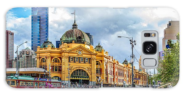 Australia Galaxy Case - Classic Melbourne by Az Jackson