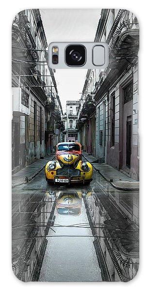 Landmark Galaxy Case - Classic Old Car In Havana, Cuba by Svetlin Yosifov