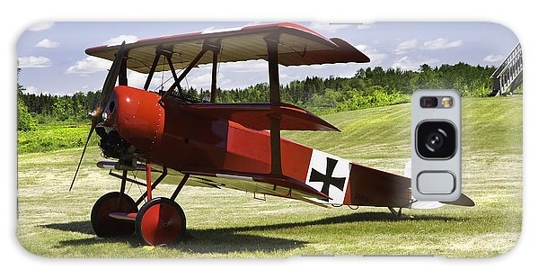 Classic Red Barron Fokker Dr.1 Triplane Photo Galaxy Case by Keith Webber Jr