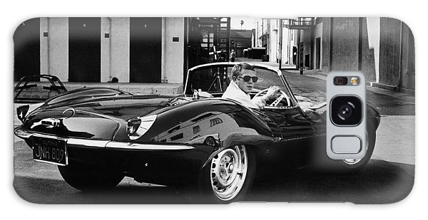 Classic Steve Mcqueen Photo Galaxy Case