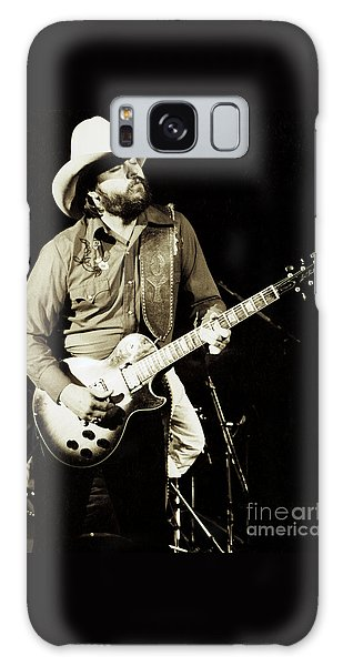 Classic Toy Caldwell Of The Marshall Tucker Band At The Cow Palace-new Years Concert  Galaxy Case