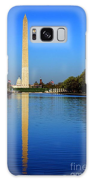 Washington Monument Galaxy S8 Case - Classic Washington by Olivier Le Queinec