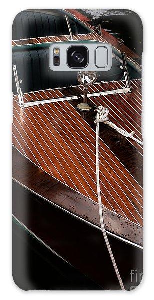 Powerboat Galaxy Case - Classic Wooden Power Boat by Edward Fielding