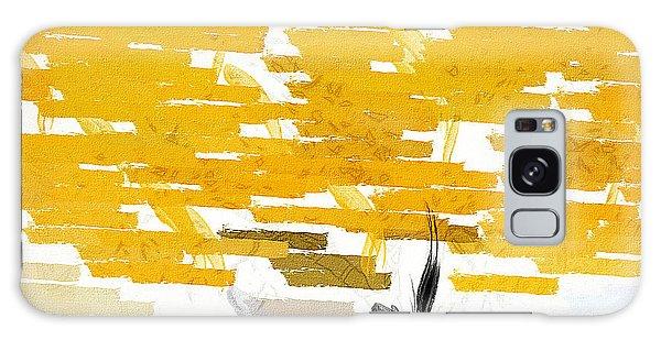 Classy Yellow Tree Galaxy Case