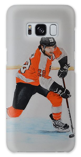 Claude Giroux Philadelphia Flyer Galaxy Case